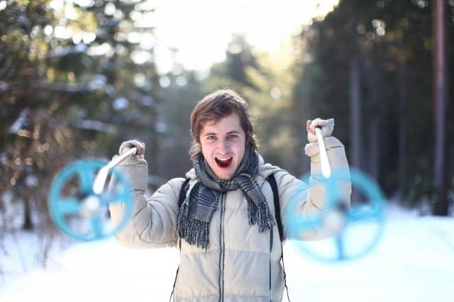 Zimní turistika na Šumavě