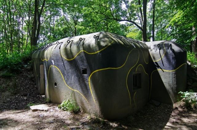 Šumava bunkry