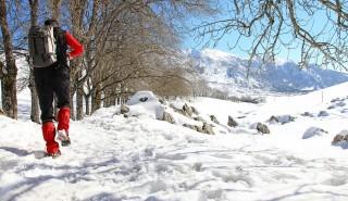Zimní pěší turistika